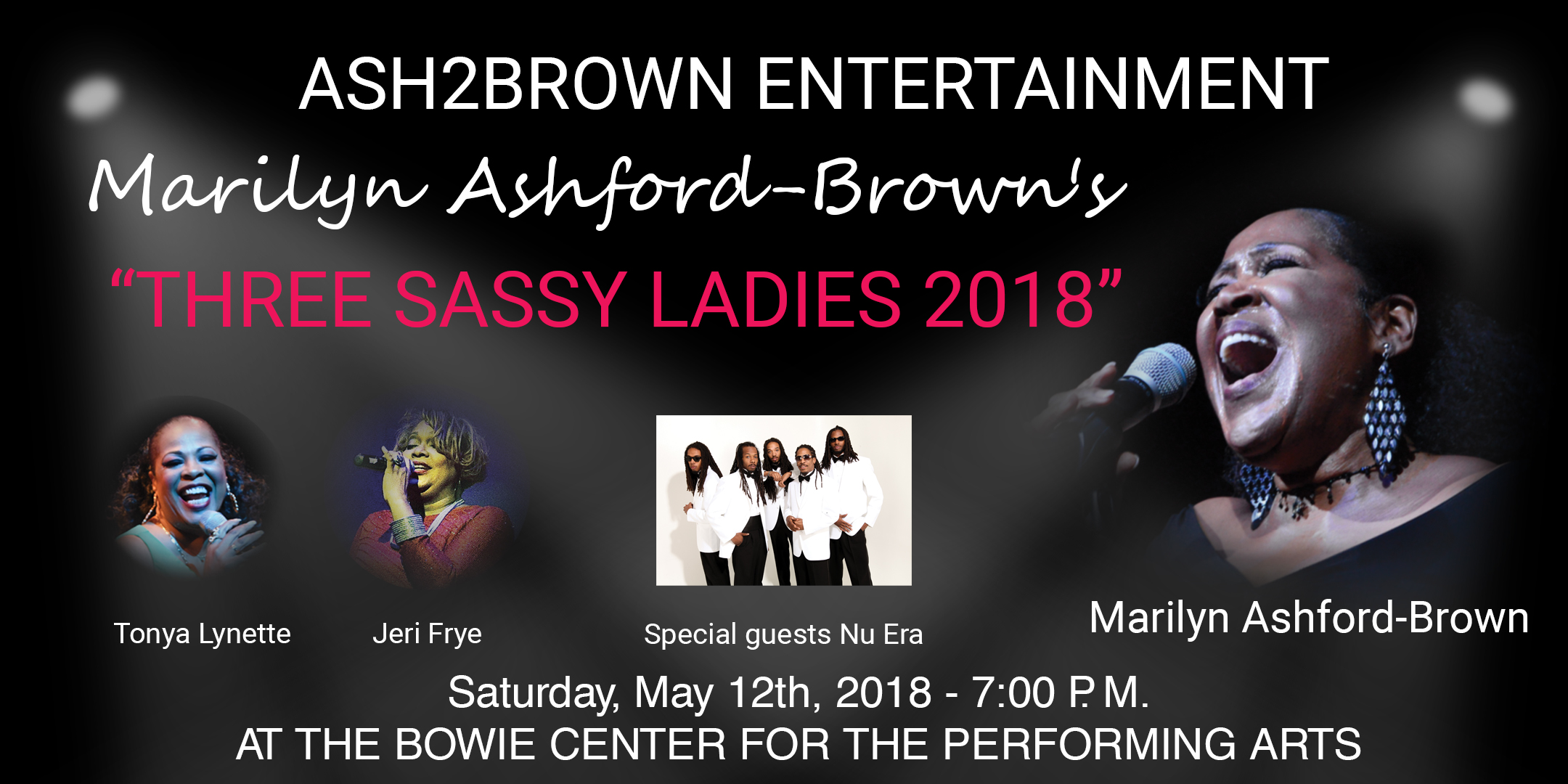 Marilyn Ashford-Brown - Sassy Lady - Concert May 2018